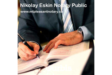 Nikolay Eskin Notary Public in Vancouver: Notary Public Services Vancouver