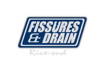Fissures et drain francais Rive Sud