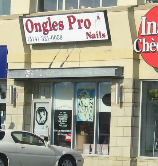 Ongles pro nails montr al nord qc ourbis for Meuble montreal nord