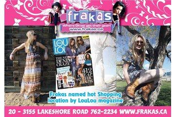 Frakas Shops For Women in Kelowna