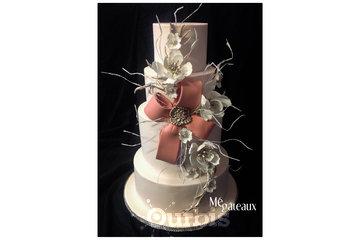 Mé Gâteaux - Gateaux personnalisés et gâteaux de mariage à Terrebonne: Gâteau de mariage