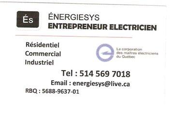 ENTREPRENEUR ELECTRICIEN ENERGIESYS à Laval