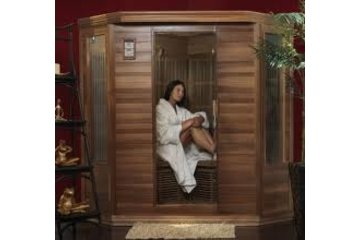 Shawnigan Lake Spa & Wellness Centre in Shawnigan Lake: infra-red sauna