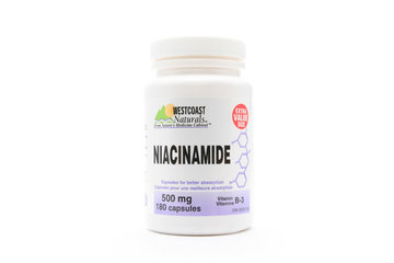 Westcoast Naturals in Richmond: Niacinamide 500 mg 180 caps