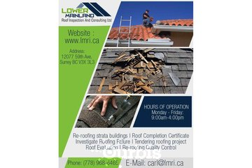 Strata re-roofing Budgets in Surrey | Lower Mainland Roof Inspection and Consulting Ltd