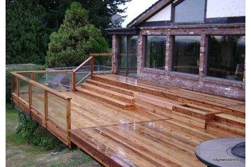 Ridgewood Construction in Victoria: Ground level Deck