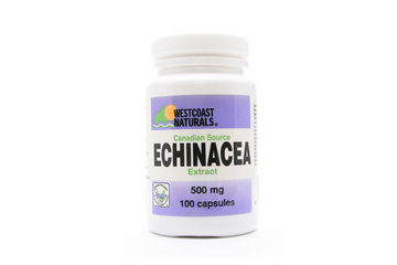 Westcoast Naturals in Richmond: Canadian Echinacea Standardized Extract 100 caps