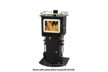 Cubic Mini Wood Stoves à St-Laurent: Small Wood Stoves for tiny spaces