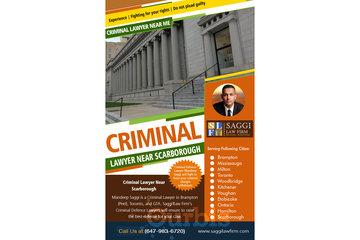 Saggi Law Firm in BRAMPTON: Criminal Lawyer Near Scarborough