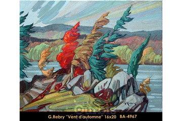 Le Balcon d'Art, à Saint-Lambert: Gaston Rebry Master Canadian Artist Montreal Art Gallery