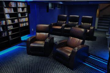 Cinéma Prodesign à Mascouche: salle de cinéma maison clé en main