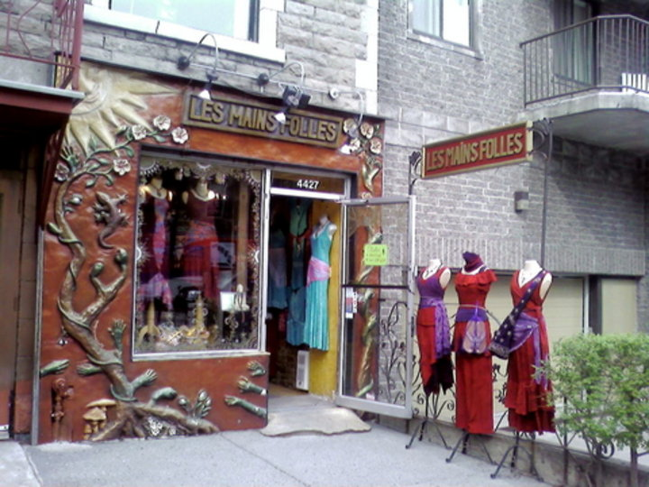 Boutique les mains folles montr al qc ourbis for Meubles montreal decarie