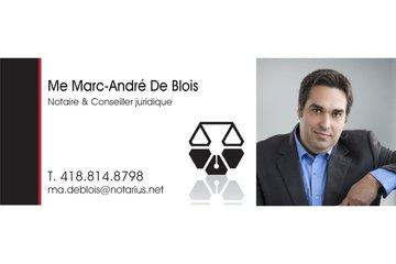 Notaire Marc-André De Blois