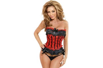 Eye Kandee Lingerie in Vancouver: Burlesque Corset Top