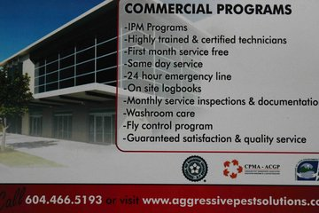 Aggressive Pest Control Ltd in Maple Ridge