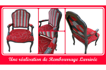 Rembourrage Larrivée Ltée in Saint-Eustache: chaise de cuisine unique