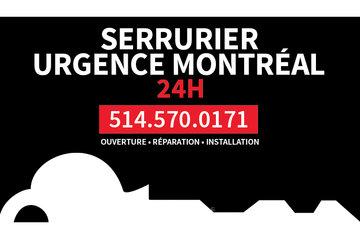 SERRURIER URGENCE MONTREAL 24H 514-570-0171 à Montréal