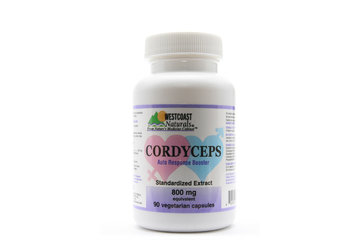 Westcoast Naturals in Richmond: Cordyceps 800 mg 90 vcaps