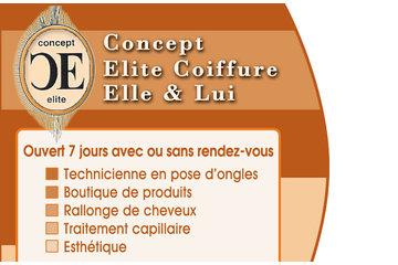 Concept Elite Coiffure à Laval