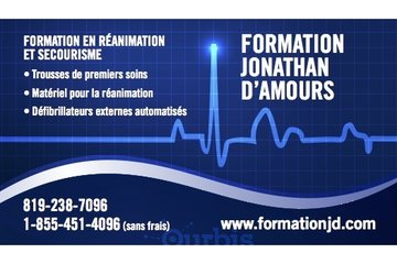 Formation Jonathan D'Amours in East Angus