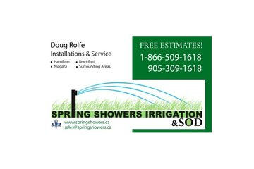 Spring Showers Irrigation
