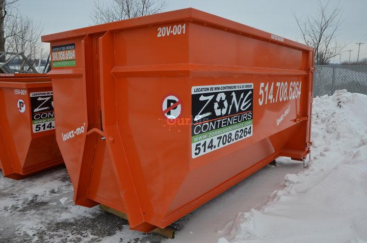 Location de conteneurs zone conteneurs inc louer for Conteneur pour renovation