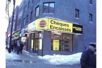 Insta-Chèques-Western Union à Montréal