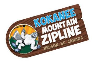 Kokanee Mountain Zipline in Nelson: Logo