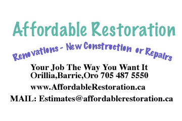 affordable restoration