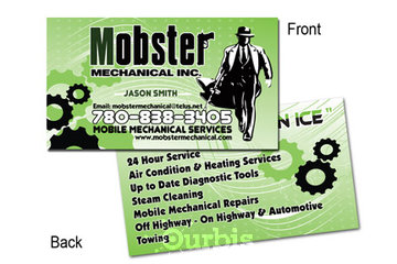 HeresMyCard.ca in Airdrie: Mobster Business Card