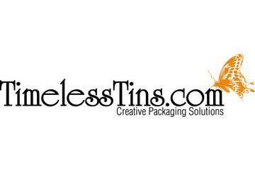 Timeless Tins in Kamloops: Timeless Tins logo