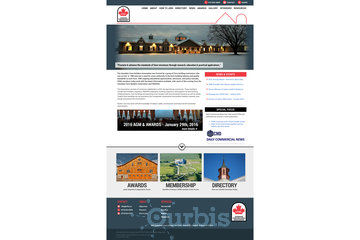 Outrageous Creations à Newmarket: Webside developed for the Canadian Farm Builders Association in Guelph, Ontario