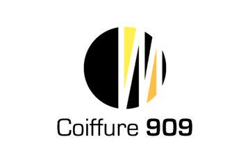 Salon De Coiffure 909 in La Prairie: Logo Coiffure 909