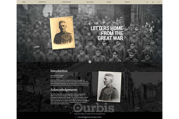 Outrageous Creations à Newmarket: Website publishing the letters written home from the Great War from a Canadian Soldier