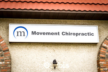 Movement Chiropractic and Wellness à saskatoon: Movement Building Sign