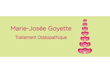 Marie-Josée Goyette, Ostéopathe