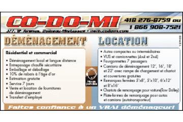 Déménagement & Location Co-Do-Mi in Dolbeau-Mistassini: service offert