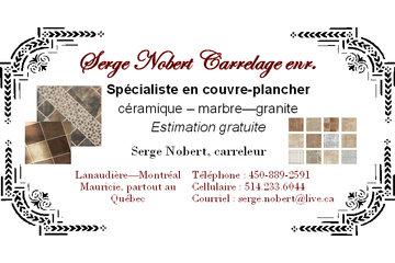 Serge Nobert carrelage
