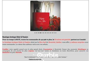 Désir et Passion Inc à Montréal: Desir & Passion : Boutique en Ligne