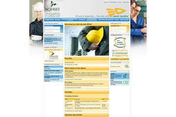 Communication Par L'Image in Bromont: Site Web de l'AQHSST