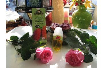 Sens tes corps à Montréal: L'huile de graines de figue de barbarie et l'huile essentielle de roses.