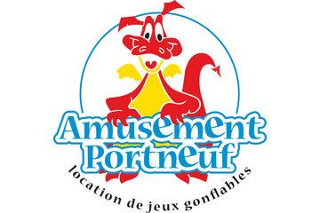 Amusement Portneuf à Grondines: Logo Amusement Portneuf