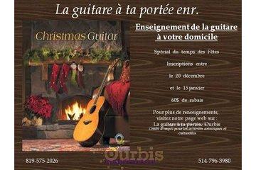 La guitare à ta portée in Trois-Rivieres: Spécial du temps des fêtes