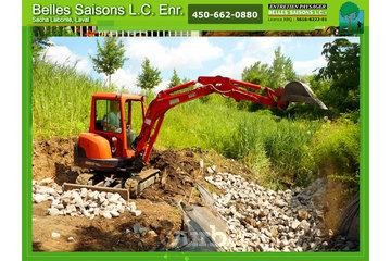 Belles Saisons L C Enr à Laval: gazon-tonte-laval-excavation