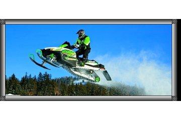 Junior Mecanique Plus Inc in Rimouski: motoneige arctic cat montain cross m8