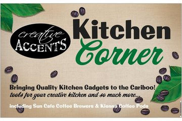 Creative Accents in Williams Lake: New in the store: Kitchen Corner