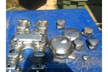 Gregs Metal Grinding in Oshawa: Honda motorcycle parts before mirror finish