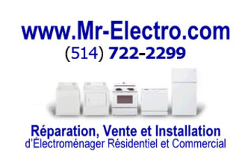 Mr-Electro.com Appliance Service Technicians in Montreal, Qc