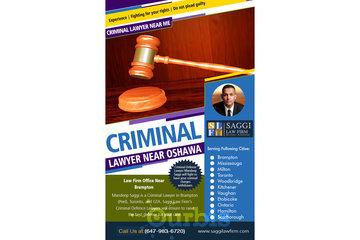 Saggi Law Firm in BRAMPTON: Criminal Lawyer Near Oshawa