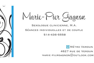 Marie-Pier Gagnon, sexologue clinicienne